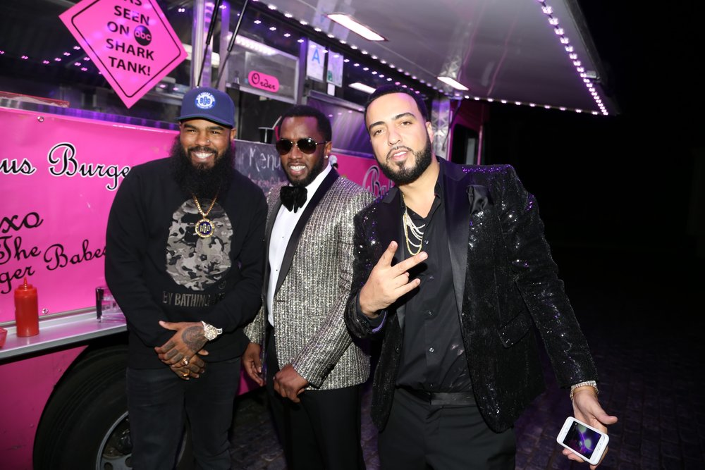 """Diddy and French Montana Attend the Sean """"Diddy"""" Combs GRAMMYs Weekend After Hours with CÎROC Vodka on February 11th in Los Angeles, CA. Photo Credit Combs Enterprises"""