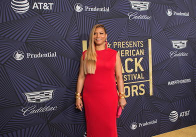 "Queen Latifah attended ABFF Honors, ""Presented by Cadillac"" at The Beverly Hilton   Photo Credit: Michael Rowe."