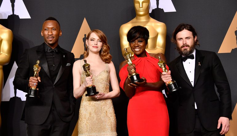 Winners of The 2017 Academy Awards! Photo Credit: Getty Images