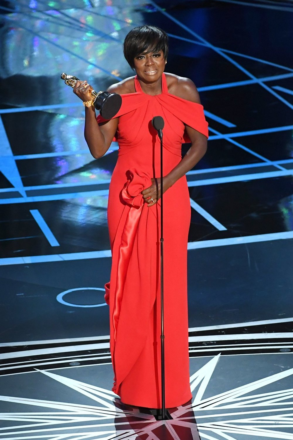 "Viola Davis is an Oscar 2017 Winner for Actress in a Supporting Role for ""Fences."" Photo Credit: Getty Images"