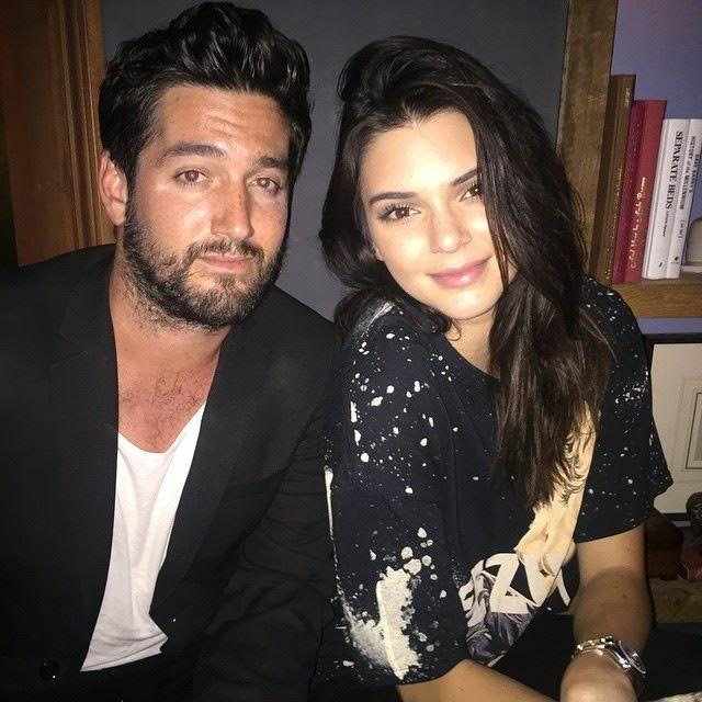 Jonathan Stinson of Relevant Relations PR with Kendall Jenner. Courtesy Photo