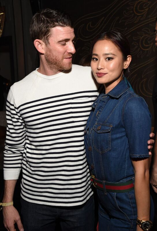 Bryan Greenberg and Jamie Chung at the TAO, Beauty & Essex, Avenue, and Luchini LA Grand Opening. Photo Credit: Michael Kovac/Getty Images