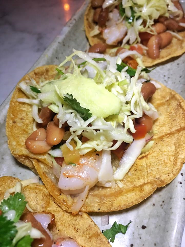 The Freshest Shrimp Tacos I've Had in Hollywood! Photo Credit: Kimlai Yingling/  EatinAsian.com