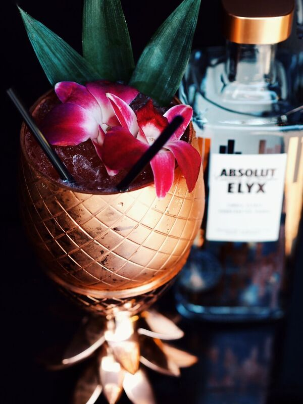 Absolut Elyx Steps Up Their Game With This Cocktail! Photo Credit: Miki Ash