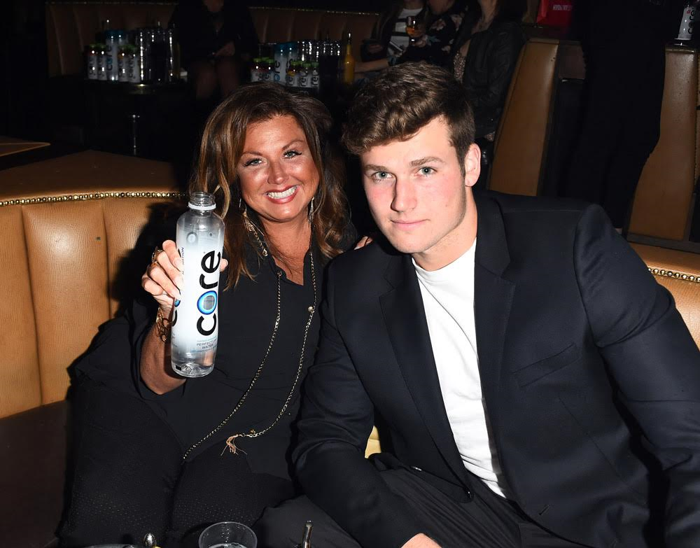 Abby Lee Miller Stayed Hydrated with Core! Courtesy Photo