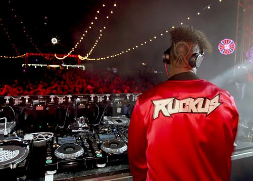DJ Ruckus performs at The Levi's Brand Presents NEON CARNIVAL with Tequila Don Julio on April 15, 2017 in Thermal, California. Photo Credit: Jonathan Leibson/WireImage