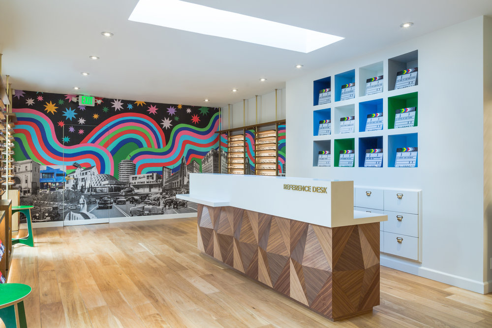 The Newest Warby Parker is Located on Melrose Ave! Courtesy Photo
