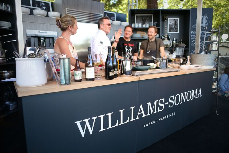 A Past Look at the Williams-Sonoma Stage! Courtesy Photo