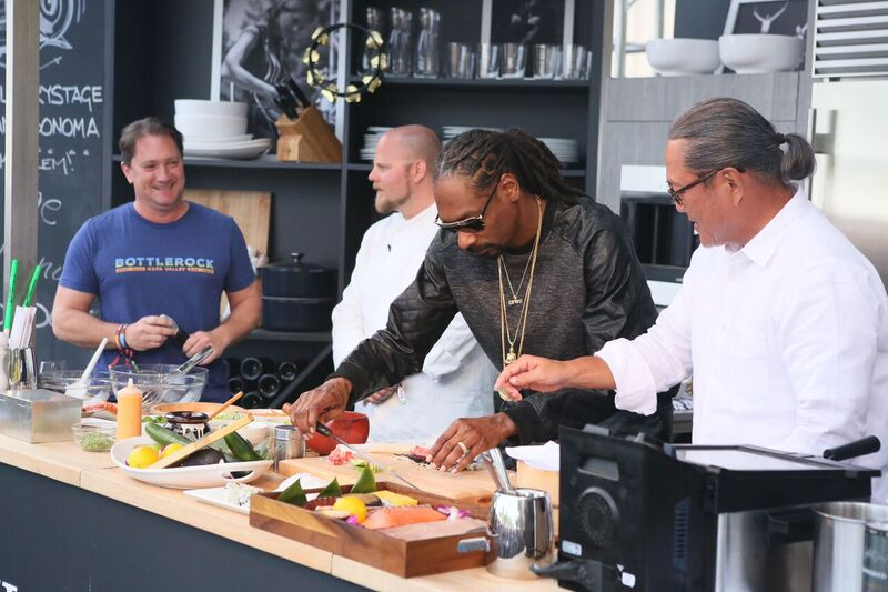 Come See Your Favorite Celebs and Music Artists at the Culinary Stage at BottleRock! Courtesy Photo