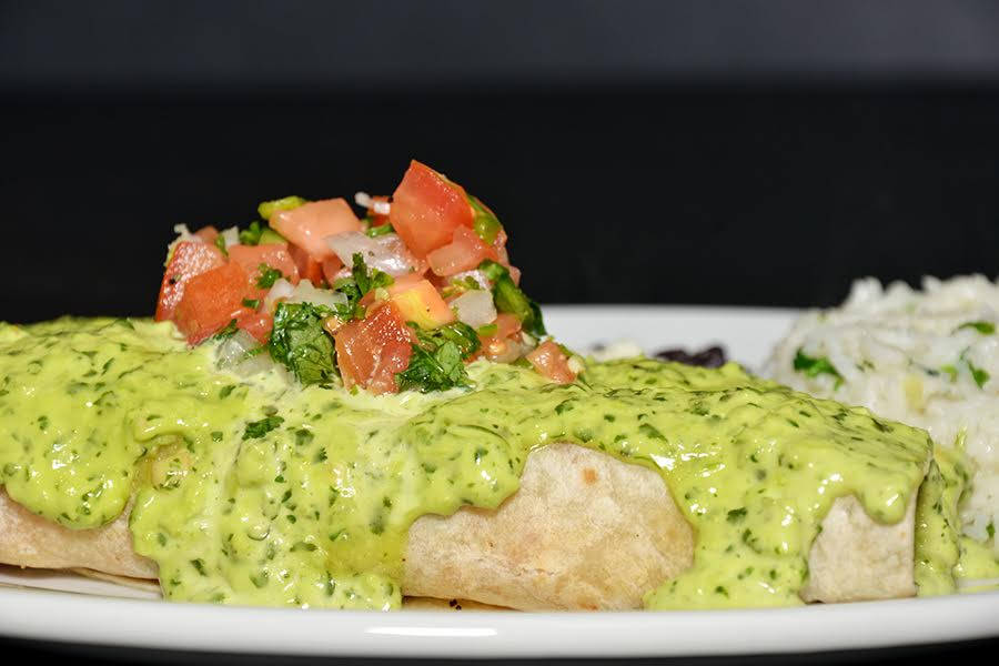 The Lobster and Shrimp Enchiladas Are Filled To The Brim with Delicious Seafood! Courtesy Photo
