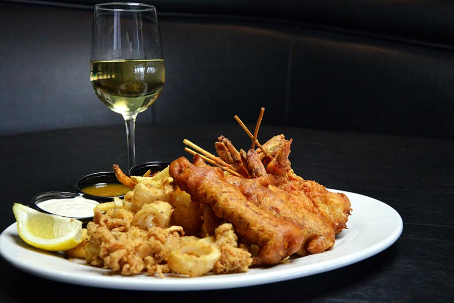 One of the Many New Additions to the Menu - The Fried Seafood Platter. Courtesy Photo
