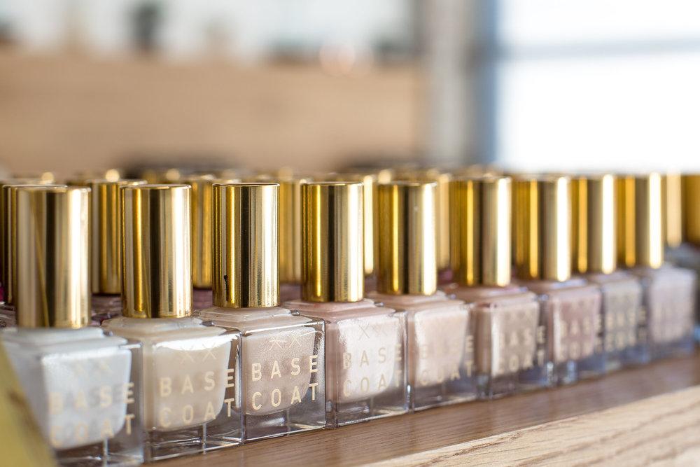 Non-Toxic Nail Polishes Are Used at Base Coat! Photo Credit: Jess Isaac Photography