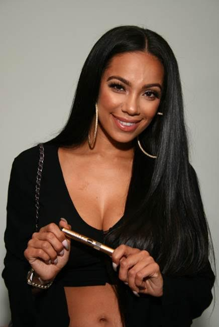 Love & Hip Hop's, Erica Mena stopped by the GBK pre-MTV gifting suite to pick up a new innovative mascara, Grande Lash