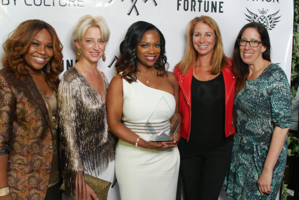 Real Housewife of Atlanta Star Kandi Burruss was honored in NYC last night with the Fortune Insider Award for her career success in entrepreneurship and entertainment! RHONY stars Dorinda Medley and JIll Zarin Came to Support! Photo Credit: Jose Genoa