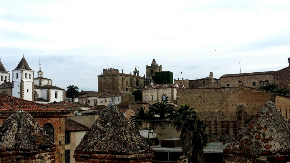 View of the Lovely Caceres!