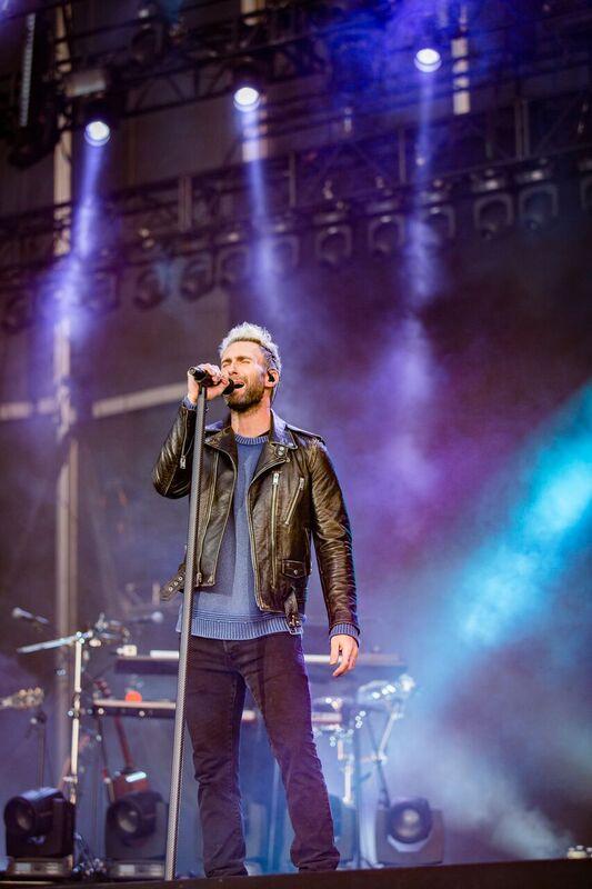 Adam Levine of Maroon 5 Closed Friday Night of BottleRock! Photo Credit: Courtesy BottleRock Napa Valley