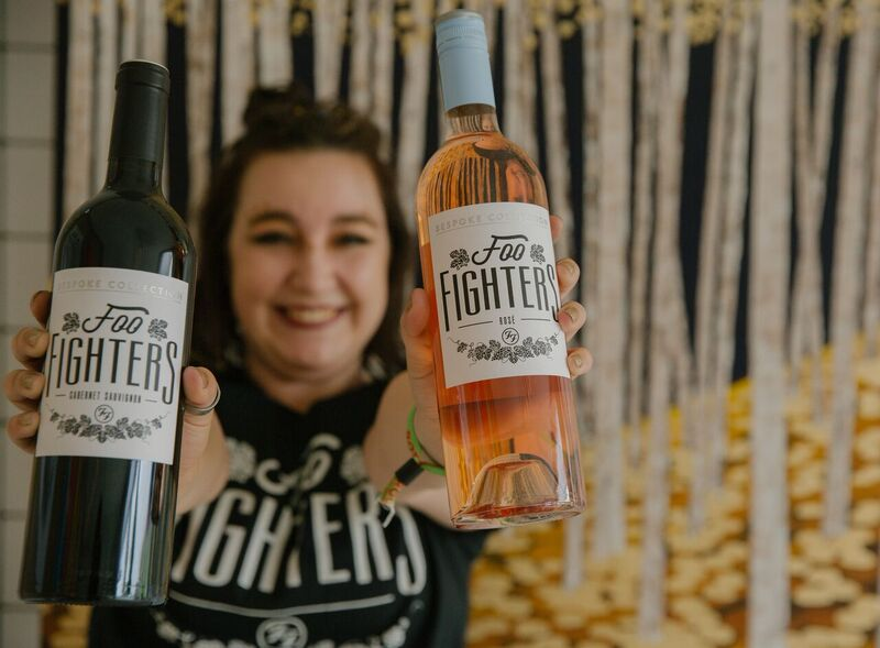 Foo Fighters Wine Was FLYING Off the Shelves! Photo Credit: Courtesy BottleRock Napa Valley
