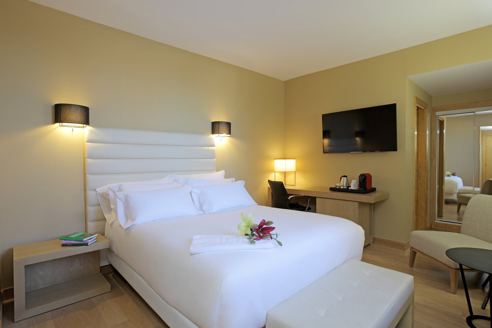Ultimate Comfort at Hotel NH Palacio! Photo Credit: Courtesy of Extremadura Tourism