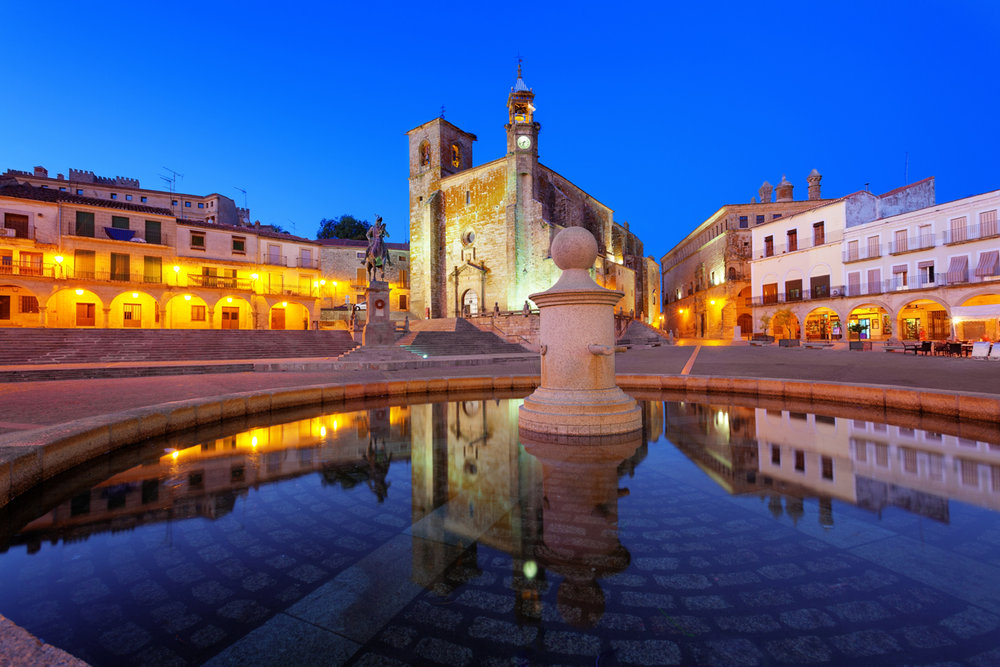 The Main Square in Trujillo is Full of Life! Photo Credit: Courtesy of Extremadura Tourism Board
