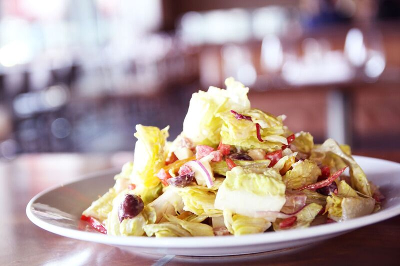 Tableside Club Room Style Caesar Salad! The Best Salad You Will EVER Have!  Photo Credit: Innovative Dining Group