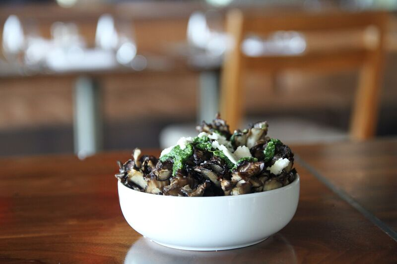 Hen of Wood Mushrooms! Definitely NOT Your Average! Photo Credit: Innovative Dining Group