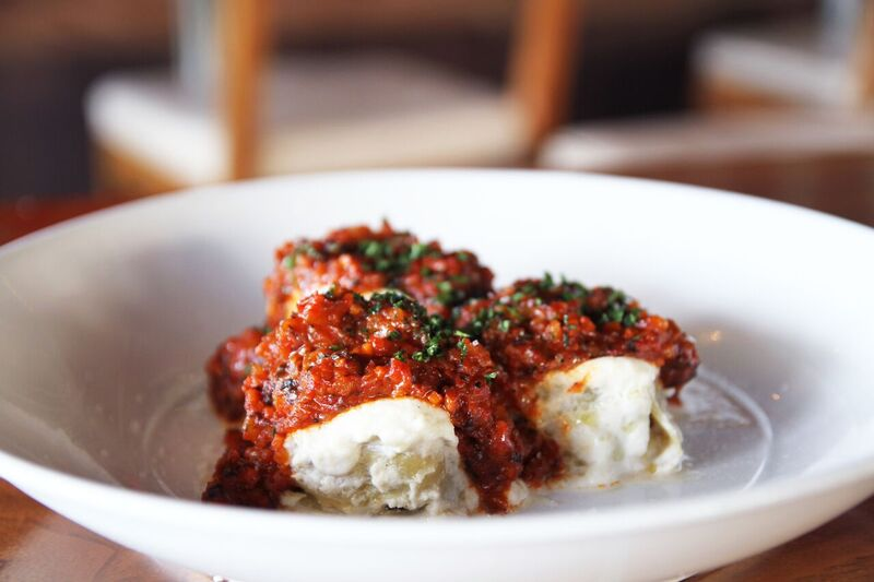 Nidi Bolognese! Perfectly Portion and Almost to Pretty to Eat!  Photo Credit: Innovative Dining Group