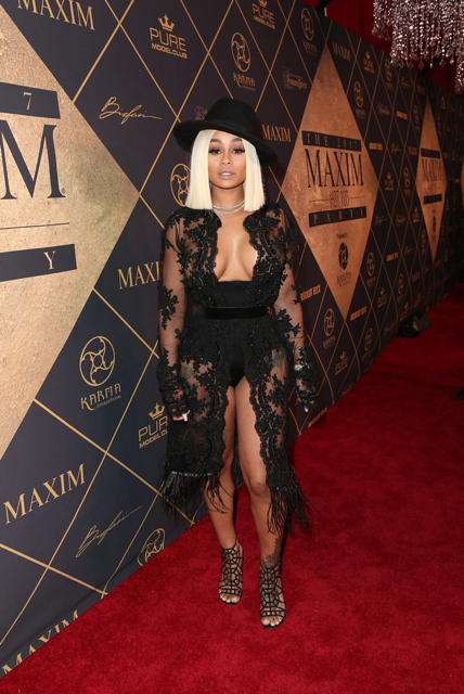 Blac Chyna Looked Absolutely Fierce at Maxim Hot 100 Issue Party at the Hollywood Palladium. Courtesy Photo