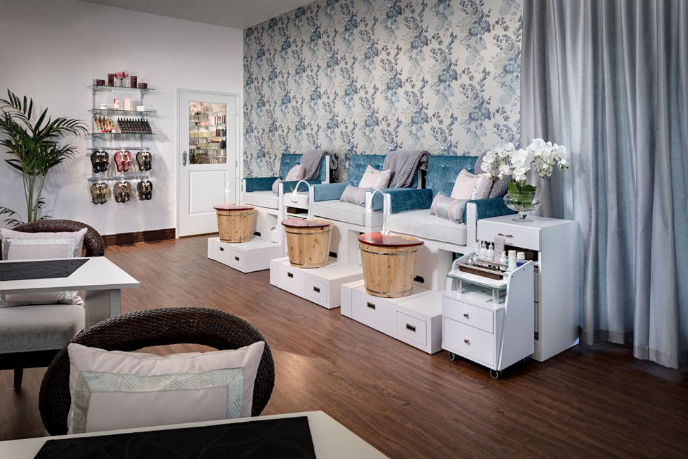 Complete Your Day of Relaxation With a Mani-Pedi! Courtesy Photo