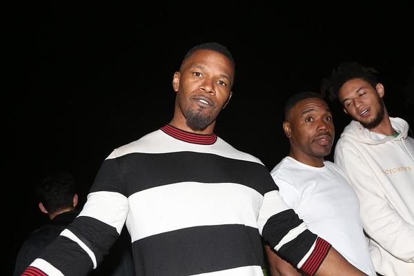 The Life of the Party - Jamie Foxx! Photo Credit: Tasia Wells/ Getty Images