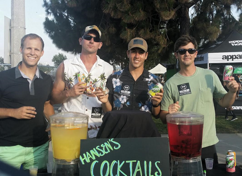 Hansen's Natural Soda Infused Cocktails!