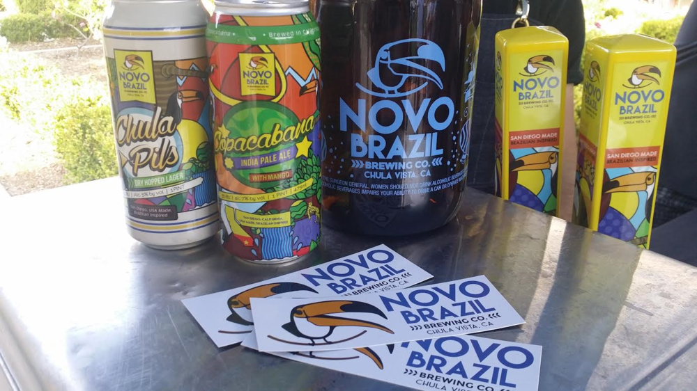 Novo Brazil Sampled its Mango Infused IPA!