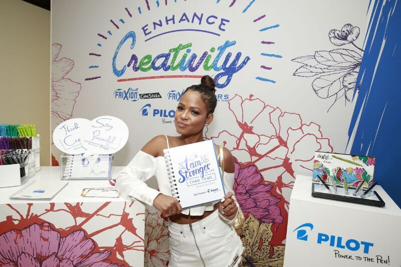Christina Milian Took Gladly Wrote Her Statement Using Pilot Pens! Courtesy Photo