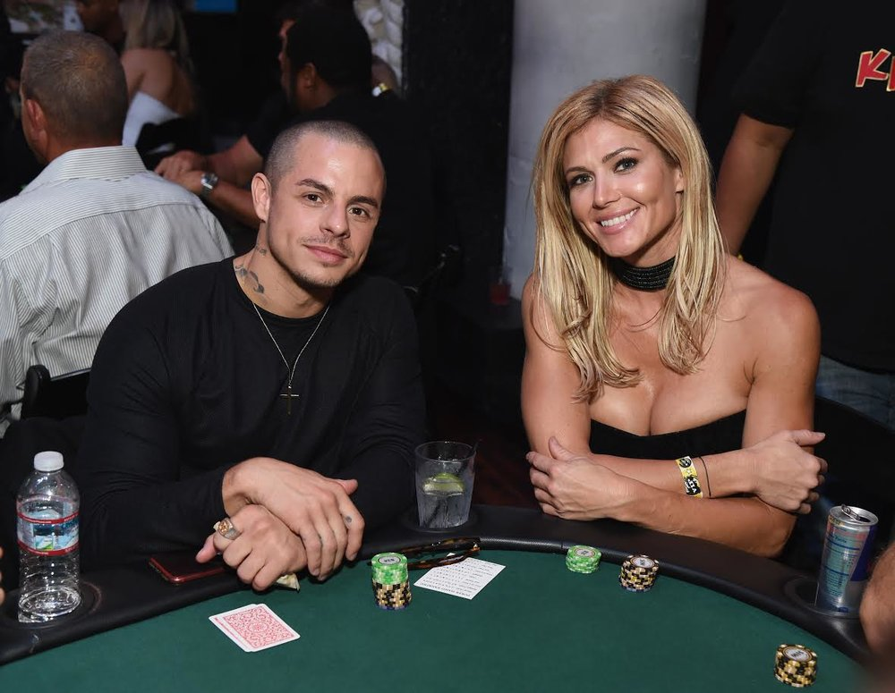 JLo's ex Beau Casper Smart and ARod's ex Torrie Wilson were seen getting close while attending the  Heroes for Heroes:   Los Angeles Police Memorial Foundation  Celebrity Poker Tournament & Casino Night Party, supported by    PokerStars Helping Hands  at the Avalon in Hollywood.  Photo Credit: Michael Kovac  / Getty Images