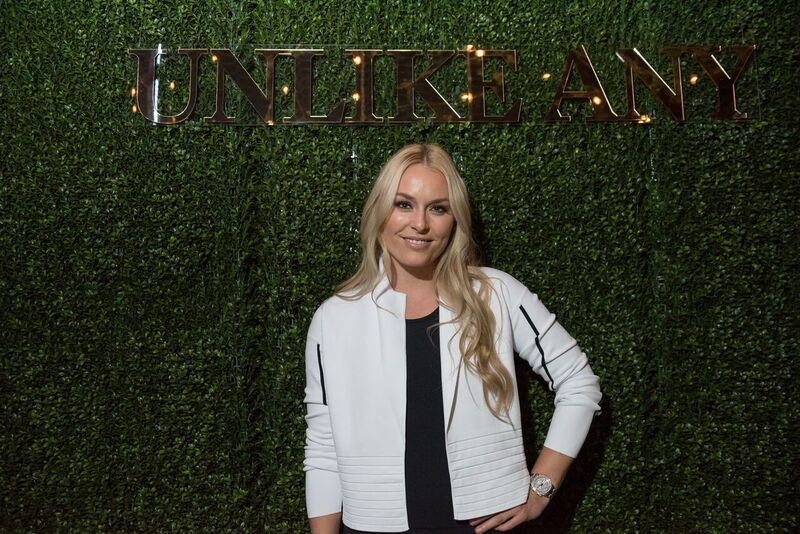 Lindsey Vonn Debuts Under Armour Campaign, Unlike Any, at Hollywood Hotspot - Beauty & Essex! Courtesy Photo