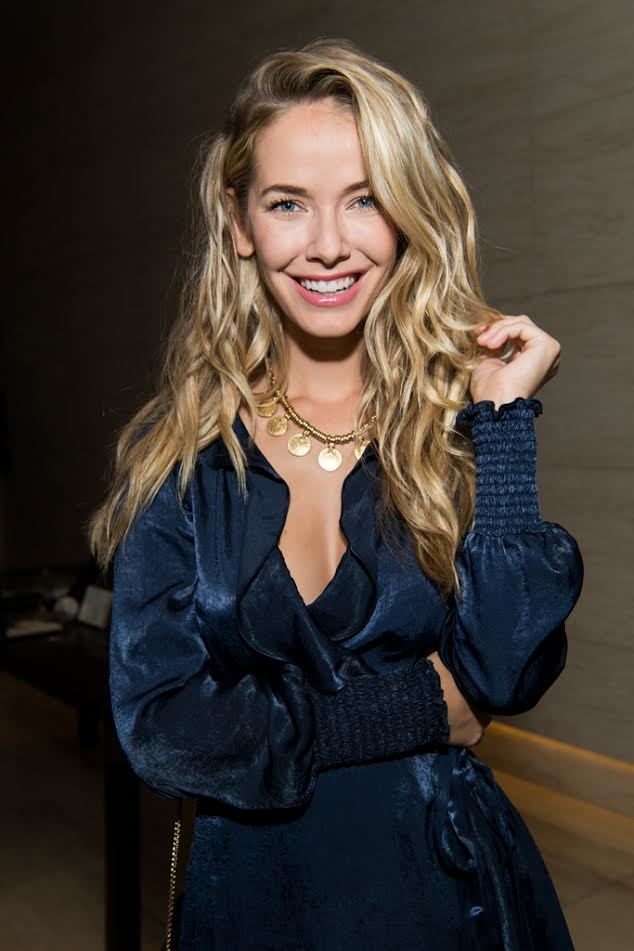 Olivia Jordan LOVED the collection! Photo Credit: Getty Images