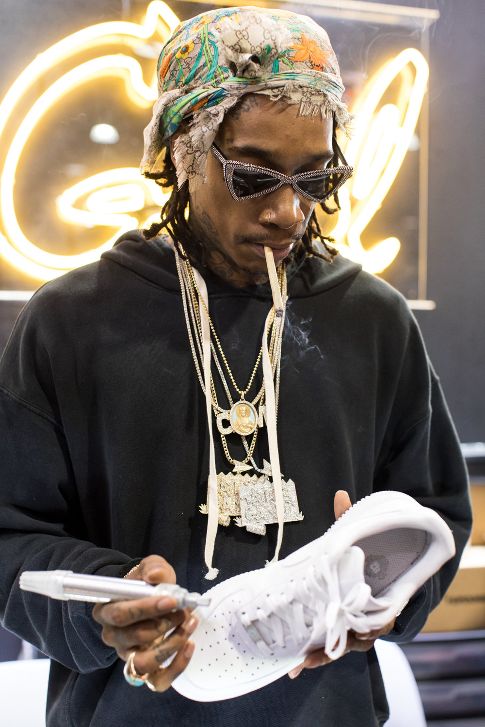 Wiz Khalifa Showed Some Love at ComplexCon! Photo Credit: ComplexCon