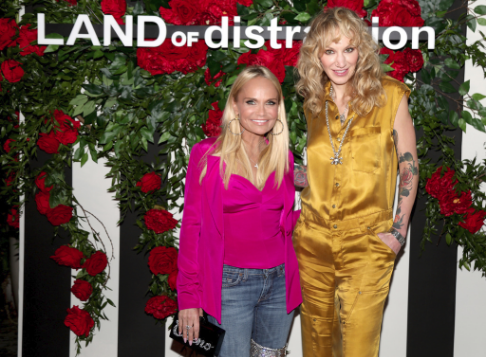 Actress Kristin Chenoweth and Founder, LAND of distraction, Danita Short at the  LAND of distraction  Launch Party at Chateau Marmont on November 30, 2017 in Los Angeles, California.  (Photo by Jerritt Clark | Getty Images LAND of distraction)