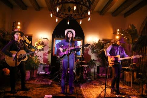 Nikki Lane performs at the  LAND of distraction  Launch Party at Chateau Marmont on November 30, 2017 in Los Angeles, California.  (Photo by Jonathan Leibson | BFA for LAND of distraction)