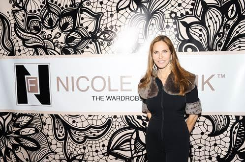 Fashion Designer Nicole Frank of Nicole Frank Clothing. Photo Credit: BFA