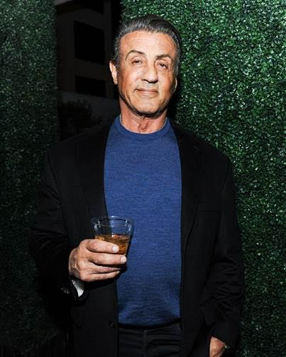 Actor Sylvester Stallone attends the Nicole Frank Clothing Launch. Photo Credit: BFA