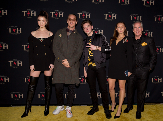 4-time Grammy nominee Diplo kept his cool while snapping photos with   Thomas Henry Jr.'s   star-studded 4 million dollar birthday celebration at Hotel Discotheque! Photo Credit: Jay Layno