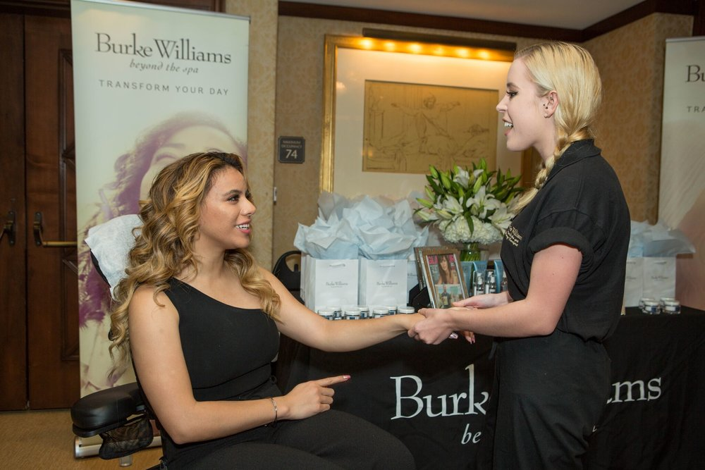 Fifth Harmony songstress, Dinah Jane looked stunning as she received luxurious pampering at the Burke Williams Gifting Suite at the Montage Beverly Hills. Photo Credit: Courtesy of GBK