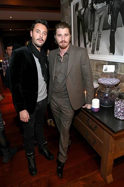 Actors Jack Huston (L) and Garrett Hedlund attend Google Home x Sundance x Wanderluxxe celebrate diversity at the home of Barry & Amy Baker on January 22, 2017 in Park City, Utah.  (Photo by Randy Shropshire/Getty Images for Google Home)