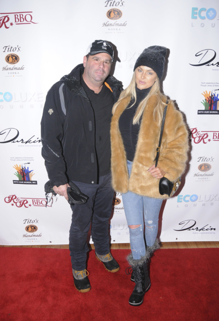 Vanderpump Rules  star LaLa Kent made her first public appearance with her new beau Randall Emmett at  Debbie Durkin's EcoLuxe Lounge  at Sundance in Park City. (Photo by Paul Best/Getty Images for EcoLuxe)
