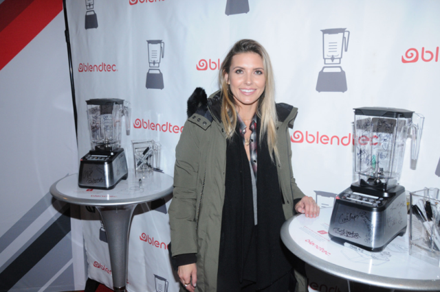 Audrina Patridge Stops in the Eco-Luxe  Lounge at Sundance! Photo Credit: Paul Best / Getty Images