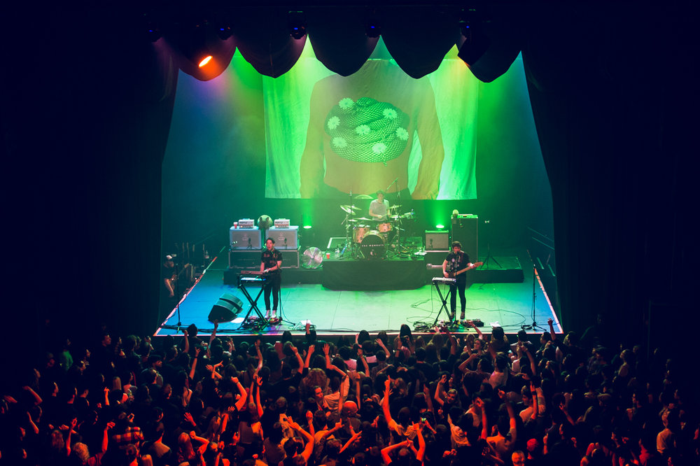 The Wombats at the Fonda Theatre (Photo by Samantha Saturday)