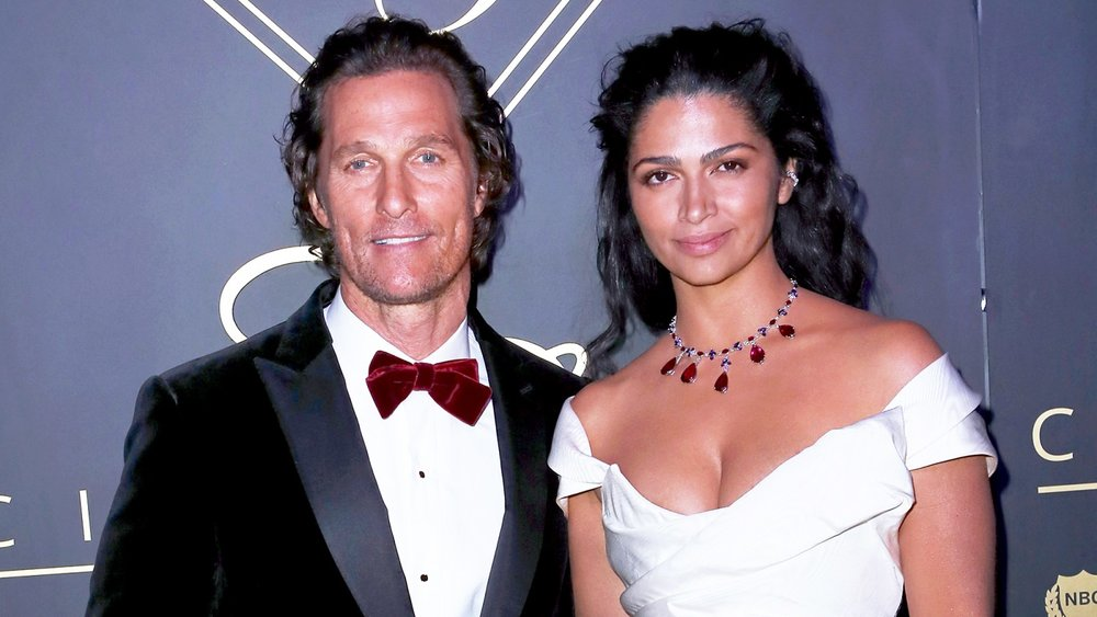 Matthew McConaughey and wife Camila Alves attend the City Gala 2018 at Universal Studios Hollywood on March 4, 2018 in Universal City, California. David Livingston/Getty Images