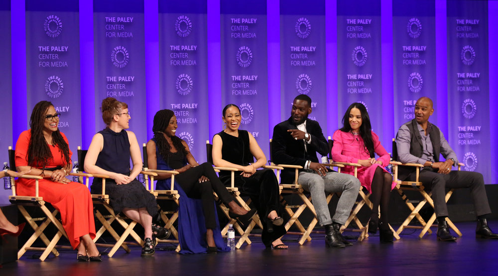 Cast and creatives of Queen Sugar attend PaleyFest LA 2018 honoring Queen Sugar, presented by The Paley Center for Media, at the DOLBY THEATRE on March 24, 2018 in Hollywood, California. Photo Credit: Emily Kneeter for the Paley Center
