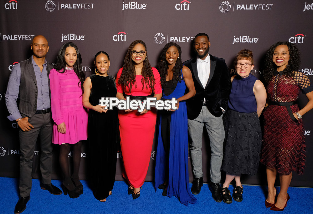 Cast and creatives of Queen Sugar arrive at PaleyFest LA 2018 honoring Queen Sugar, presented by The Paley Center for Media, at the DOLBY THEATRE on March 24, 2018 in Hollywood, California. Photo Credit: Michael Bulbenko for the Paley Center
