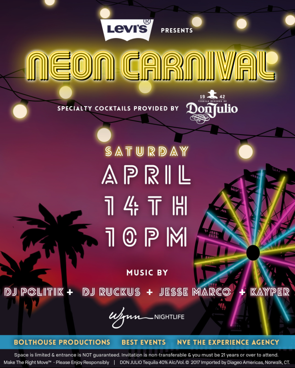 Neon Carnival 2018 - THE Party to Attend! Courtesy Photo
